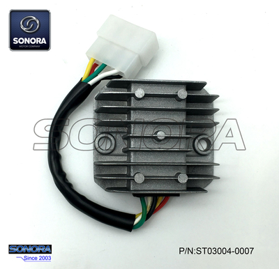 Benzhou Scooter 125cc Rectificador 6 cables
