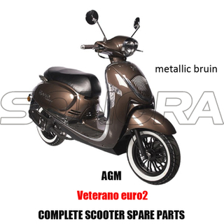 AGM VETERANO SCOOTER BODY KIT PIEZAS DE MOTOR SCOOTER COMPLETAS RECAMBIOS ORIGINALES