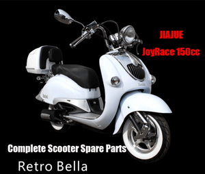 Repuestos Scooter Jiajue Retro Bella125